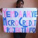 Felicia Asabea : Microcredit Worker at Kwahu-Tafo