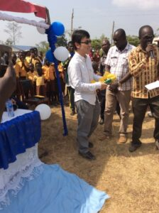 Bill Kim set up scholarships for local children